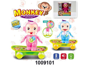 B/O Universal Skateboard Monkey with Light&Music (1009101) pictures & photos