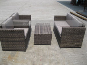 Mtc-118 PE Rattan Modern Outdoor Garden Sofa Set Furniture pictures & photos