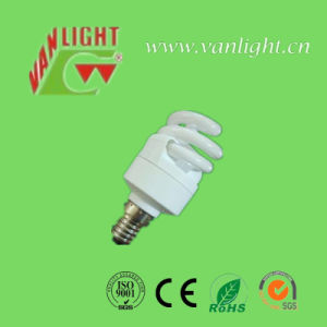Full Spiral T2-9W E27 CFL Lamp Energy Saving Bulb pictures & photos