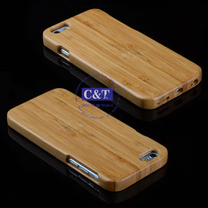 Natural Wooden Hard Bamboo Wood Case for iPhone 6 Plus pictures & photos