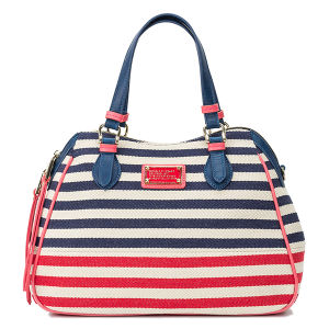2015 Fashion Women Striped Canvas Designer Bag