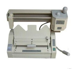 Desktop Manual Glue Book Binding Machine 460mm Glue Binder (WD-460A) pictures & photos