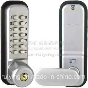 Office Door Handle Lock with Key and Combination Code