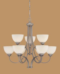 Hot Sale Chandelier with Glass Shade (1939BPW)