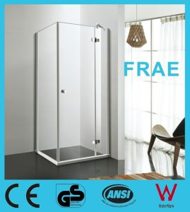 Stainless Steel Lift Hinge Shower Enclosure Bathroom Door Glass Furniture Sanitary Ware pictures & photos