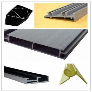 PVC Profile, Plastic Extrusion-Plastic Profile, Plastic Parts (PLAD-011) pictures & photos