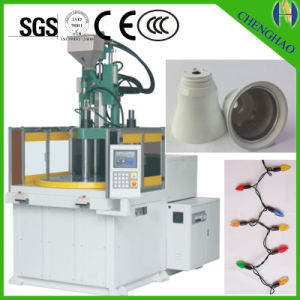 Made in China 2 Station Plastic Injection Molding Machine pictures & photos