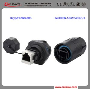 Waterproof RJ45 Connector/RJ45 Panel Mounted with Ethernet Cable pictures & photos