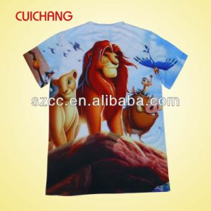 OEM 100 Short Sleeve O-Neck China T Shirt Factory Manufacture pictures & photos