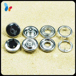 10mm Fashion Metal Prong Ring Snap Button Shirt Button pictures & photos