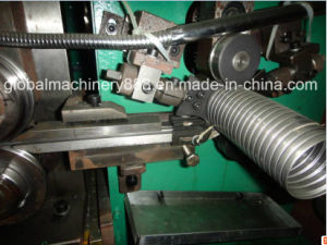 Interlocked Galvanized Flexible Exhaust Tube Manufacturing Machine