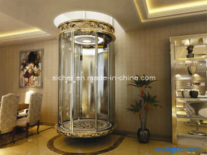 China indoor villa elevator without machine room china for Indoor elevator