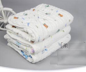 6 Layers Gauze Cloth Blanket/Towel for Baby with 70X70cm pictures & photos