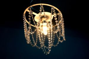 Restaurant Glass Steel Decorative Chandelier Light (KAMD4171-400T) pictures & photos