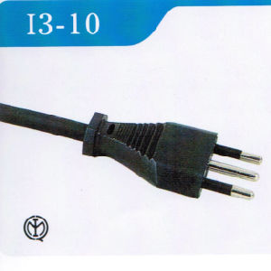 Italy 3 Pins AC Power Cord with Imq Approval (I3-10) pictures & photos