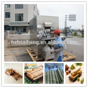 China Chocolate Cream Wafer Biscuit Machine (SH27) pictures & photos