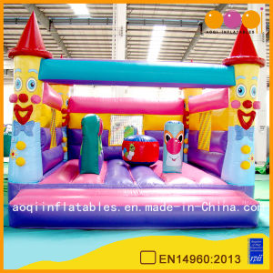 Commercial Inflatable Clown Bounce Castle with Certification for Sale (AQ532) pictures & photos