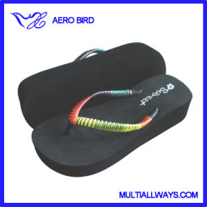 Hot Sale EVA High Heel Flip Flop for Women pictures & photos