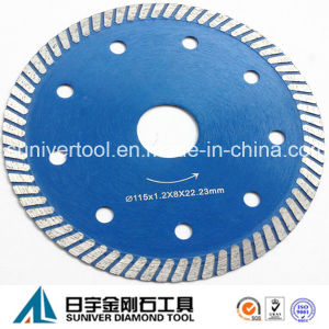 """4.5"""" Super Thin Turbo Blade for Ceramic Tile Cutting pictures & photos"""