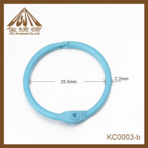 Fashion Nice Quality Blue Binder Rings Metal Clips Wholesale pictures & photos