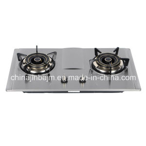 2 Burners 730 Stainless Steel Cooktop/ Built-in Hob/Gas Hob pictures & photos