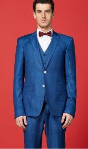 Autumn New Style Royal Blue Men Wedding Suit Bridal Dress pictures & photos