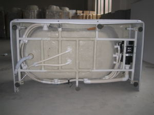 Acrylic Corner Massage Tub with Pillow (CL-339) pictures & photos