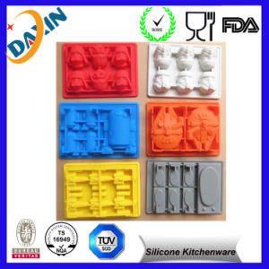 BPA Free Star Wars Custom Silicone Ice Cube Trays pictures & photos