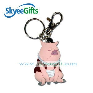 Soft PVC 3D Keychain Promotional New Design keychain pictures & photos