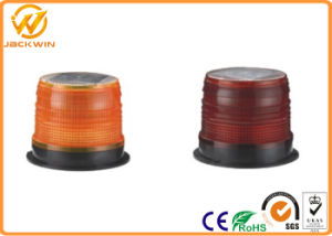 High Brightness Solar Powered Blinking Yellow / Red Traffic Light High Impact Resistant pictures & photos