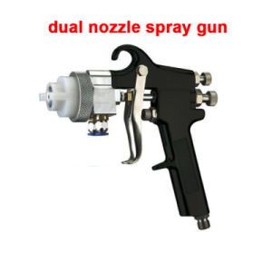 Dual Nozzle Spray Gun for Chrome Plating pictures & photos