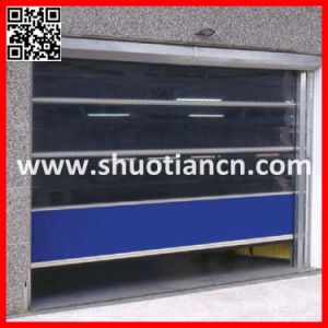 High Speed Plastic Roller Shutter / PVC Roller Shutter Doors (st-001) pictures & photos
