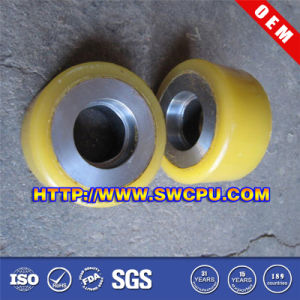 Plastic Self-Lubricated Cable Pulley Wheels pictures & photos