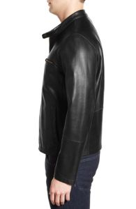 2016 Latest Design OEM Leather Moto Jacket for Men pictures & photos
