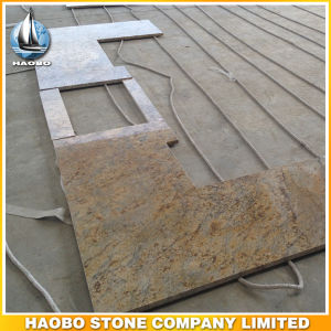 Wholesale Granite Countertop L Shaped Polished pictures & photos