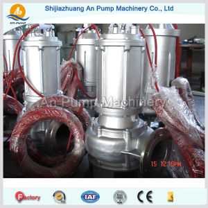 Centrifugal Electric Non-Clogging Pressure Submersible Sewage Pump pictures & photos