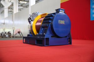 5.0m/S~9.0m/S Gearless Traction Machine for Passenger Elevator\Freight Elevator