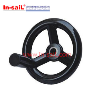 150mm Solid with Revolving Handwheel in Bakelite Material pictures & photos