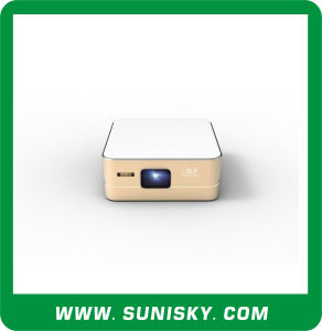 Mini Projector Android 4.4 WiFi Wireless System Projectors for Home Theater (SMP8960) pictures & photos
