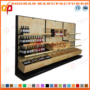 New Customized Supermarket Shop Wooden Shelf (Zhs197) pictures & photos