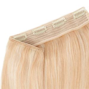100% Human Hair Mix Colors Hollywood Volume Clip in Hair Pieces pictures & photos