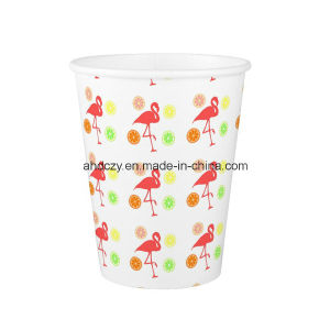 2016 Popular 9oz Single Wall Paper Cup with Fresh Fruit Printing pictures & photos
