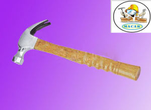 All Sizes 45#Carbon Steel Wooden American Type Claw Hammer pictures & photos