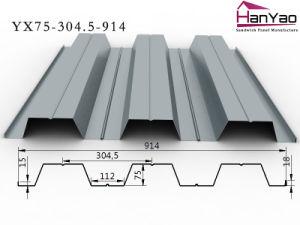 2015 New Galvanized Corrugated Steel Floor Deck Yx75-304.5-914 pictures & photos