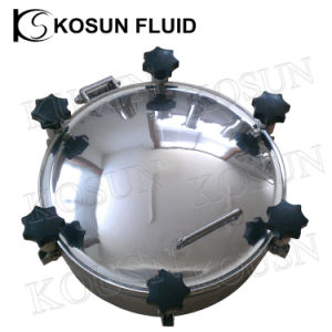 Stainless Steel Sanitary Tank Manway Cover pictures & photos