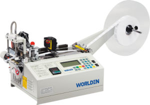 Wd-120lr (WORLDEN) Auto Abel Cutter Sewing Machine pictures & photos