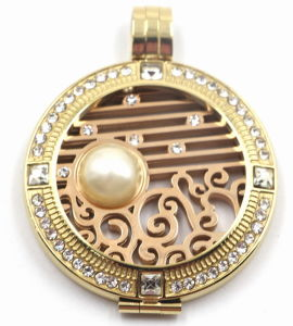 Fashion & New Design Stainless Steel Locket Pendant with Interchangeable Coinplate pictures & photos