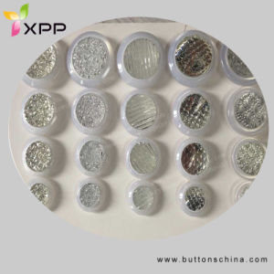 Fashion Polyester Coat Button with with Sparkling pictures & photos