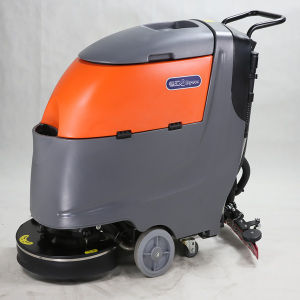 Big Area Used Automatic Floor Scrubber with Single Brush pictures & photos