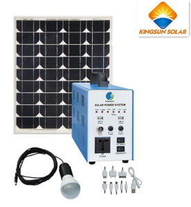 300W High Efficiency Photovoltaic Solar Home Power System pictures & photos